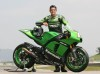 Randy de Puniet Kawasaki ad wallpaper