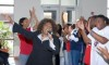 Ann Nesby accompanied by the  South Carolina State University United Voices of Christ choir