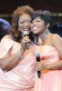 Ann Nesby withsings live onstage with Paris Bennett
