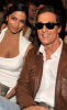 Matthew McConaughey and Camila Alves at the 44th annual country music awards on April 5th 2009