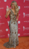 Julianne Hough arrives at the 44th annual country music awards on April 5th 2009