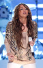 Miley Cyrus performs on stage at the 44th annual country music awards on April 5th 2009
