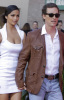 Matthew McConaughey and Camila Alves arrive at the 44th annual country music awards on April 5th 2009