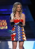 Kaley Cuoco arrives at the 44th annual Academy Of Country Music Awards