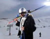 new pictures of the students in star academy season 6 skiing photo shoots on March 2009 Abdel Aziz