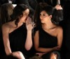 Kim Kardashian and Khloe Kardashian attend the Badgley Mischka Fall 2009 Fashion Show on the 17th of February 2009 5