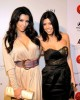 Kim Kardashian and Kourtney Kardashian attend the Night at Haven event hosted by Stardust Pictures and Jamie Kennedy on February 19th 2009 4