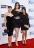 Kim Kardashian with her sisters Khloe Kardashian and Kourtney Kardashian arrive at Bravos 2nd Annual A List Awards on the 5th of April 2009 6