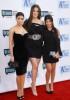 Kim Kardashian with her sisters Khloe Kardashian and Kourtney Kardashian arrive at Bravos 2nd Annual A List Awards on the 5th of April 2009 6