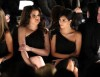 Kim Kardashian and Khloe Kardashian attend the Badgley Mischka Fall 2009 Fashion Show on the 17th of February 2009 6