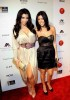 Kourtney Kardashian and Kim Kardashian attend the Night at Haven event hosted by Stardust Pictures and Jamie Kennedy on February 19th 2009 5