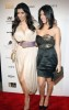 Kourtney Kardashian and Kim Kardashian attend the Night at Haven event hosted by Stardust Pictures and Jamie Kennedy on February 19th 2009 6