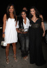 lisa raye with lil kim and kim kardashian arrive at Queen Latifah birthday party