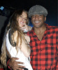 Lindsay Lohan and Q-Tip at Queen Latifah Birthday Party held at SIR Studios in Hollywood on March 28th 2009 3