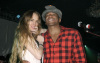 Lindsay Lohan and Q-Tip at Queen Latifah Birthday Party held at SIR Studios in Hollywood on March 28th 2009 1