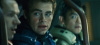 Chris Pine as captain James T. Kirk with actor John Cho as Hikaru Sulu in the new 2009 movie Star Trek XI