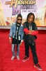 Willow Smith and Jaden Smith arrive at the Walt Disney Picture's premiere of Hannah Montana: The Movie