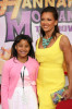 Vanessa Williams and daughter Sasha attend the Walt Disney Picture's premiere of Hannah Montana: The Movie