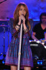 Miley Cyrus performs at ABC Good Morning America at the Hard Rock Cafe on April 8th 2009 in New York City 1