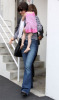 Katie Holmes and baby Suri Cruise leaving a dance school on April 2nd 2009 2