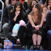 Kim Kardashian and Brittny Gastineau attend Detroit Pistons vs New York Knicks game at Madison Square Garden on April 8th 2009 in New York City 1