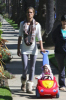 Alessandra Ambrosio spotted with her baby daughter Anja on April 7th  2009 in Los Angeles California 4