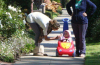 Alessandra Ambrosio spotted with her baby daughter Anja on April 7th  2009 in Los Angeles California 3