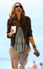 Alessandra Ambrosio candids from a fashion photo shoot on the beach in Malibu on April 7th 2009 8