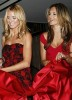 Alessandra Ambrosio with Heidi Klum at Victorias Secret new store opening event in new york city on February 12th 2008 2