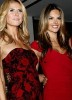 Alessandra Ambrosio with Heidi Klum at Victorias Secret new store opening event in new york city on February 12th 2008