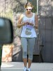 Alessandra Ambrosio spotted leaving a gym in Santa Monica California on October 30th 2008 1