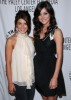 Jessica Stroup and Shenae Grimes attend the 26th Annual William S Paley Television Festival on April 11th 2009