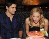 Brittany Snow celebrates Her Birthday At TAO in Las Vegas on March 7th 2009 10