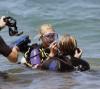 Paris Hilton scuba Diving in Maui with her boyfriend Doug Reinhardt on March 12th, 2009