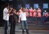 Toni Hanna with Ibrahim and Abdul Aziz at Star Academy Eighth Prime on April 10th 2009