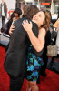 Zac Efron and Olesya Rulin arrive at the movie premiere of 17 Again on April 14, 2009