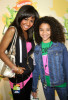 Kylee Russell with Chelsea Tavares at Nickelodeon's 2009 Kids Choice Awards
