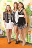 Lauren Collins with Miriam McDonald and Nina Dobrev at Nickelodeon's 2009 Kids Choice Awards