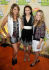 Nina Dobrev with Miriam McDonald and Lauren Collins at Nickelodeon's 2009 Kids Choice Awards