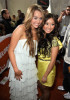 Miley Cyrus and Brenda Song at Nickelodeon's 2009 Kids Choice Awards