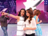 Aya and Lara Scandar on stage of staracademy6 on May 8th 2009 at the LBC Star Academy 12th prime