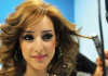 Basma from Morocco backstage at the LBC Star Academy 12th prime on May 8th 2009