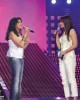 Angham and Hilda khalifeh on stage of staracademy6 on May 8th 2009 at the LBC Star Academy 12th prime