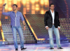 Michel Azzi and Fares Karam together on the LBC Star Academy 10th prime on April 24th 2009