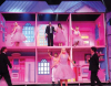 Lara and Bash in a barbie tableau at LBC Star Academy 10th prime on April 24th 2009