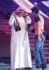 Ibrahim welcomes his father at the LBC Star Academy 10th prime on April 24th 2009