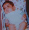 Abdel Aziz Abdel Rahman baby picture when he was a couple of month old