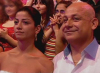 Tania Nemer father and sister picture from the audience at the 13th prime of staracademy season 6