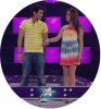 Yahia sweis from Jordana and Tania Nemer from Lebanon face their friends voting at the 13th prime of star academy season6