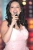 Diana Karazone singing live on stage